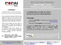 [Conférence] Le marketing au point de vente : un secteur éco-responsable par POPAI France